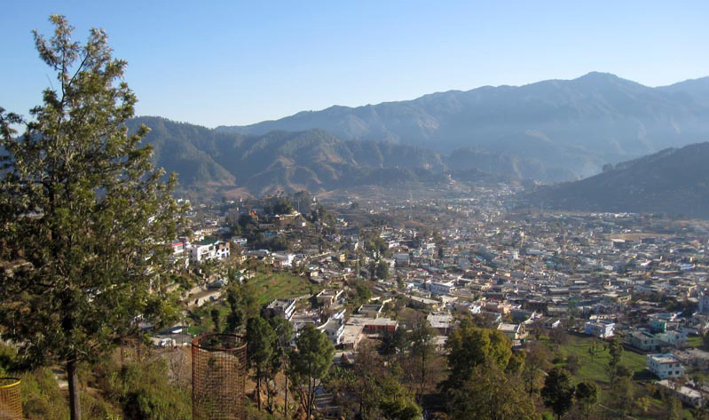 pithoragarh town